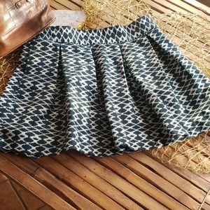 Banana Republic Size 8 Patterned Skirt